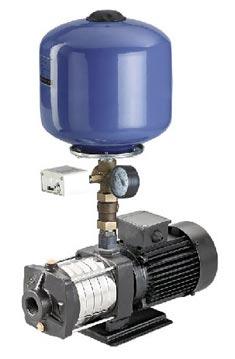 CRI Multistage Horizontal Booster Pump Set