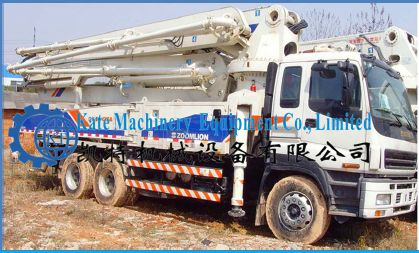 Buy Used Concrete Pump from Kate Machinery Equipment Co , Ltd