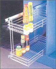 Kitchen Cabinet Baskets - 3 (Kitchen Cabinet Bask)
