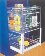 Kitchen Cabinet Baskets - 4 (Kitchen Cabinet Bask)