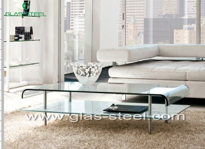 Hot modern glass teapoy coffee table manufacturer in fosha for Teapoy table designs