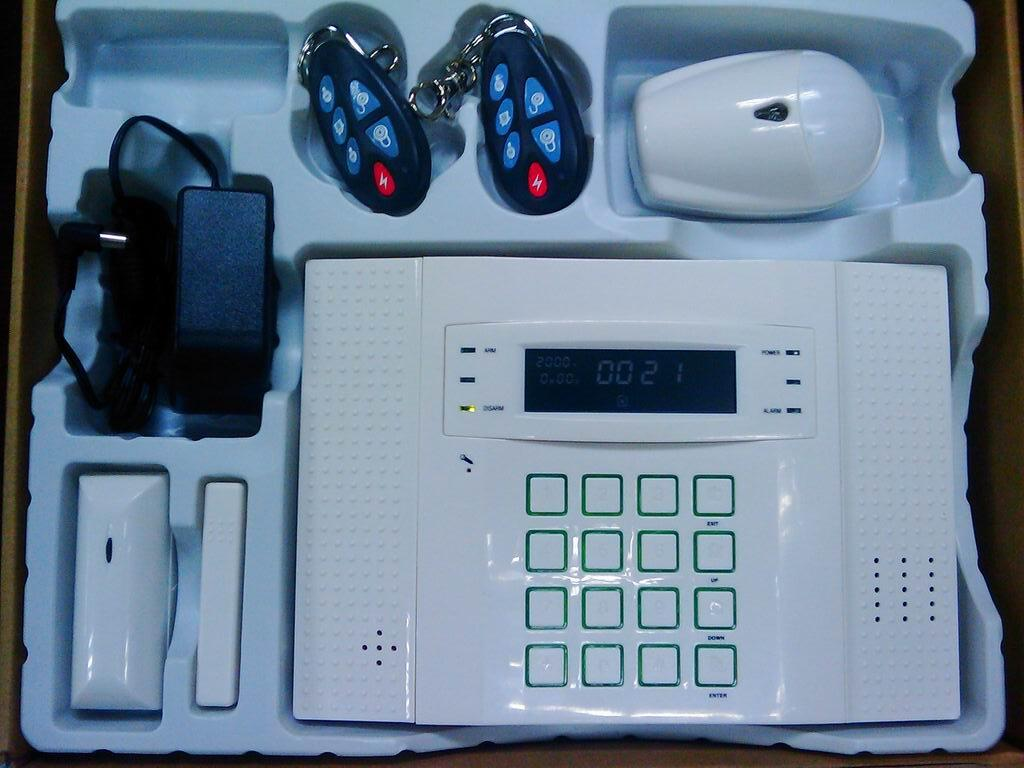 Buy gsm home alarm voice house alarm systems from vedard for Buy house alarm system