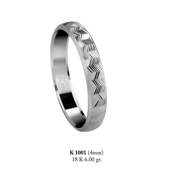 Thin Wedding Band (K1001)