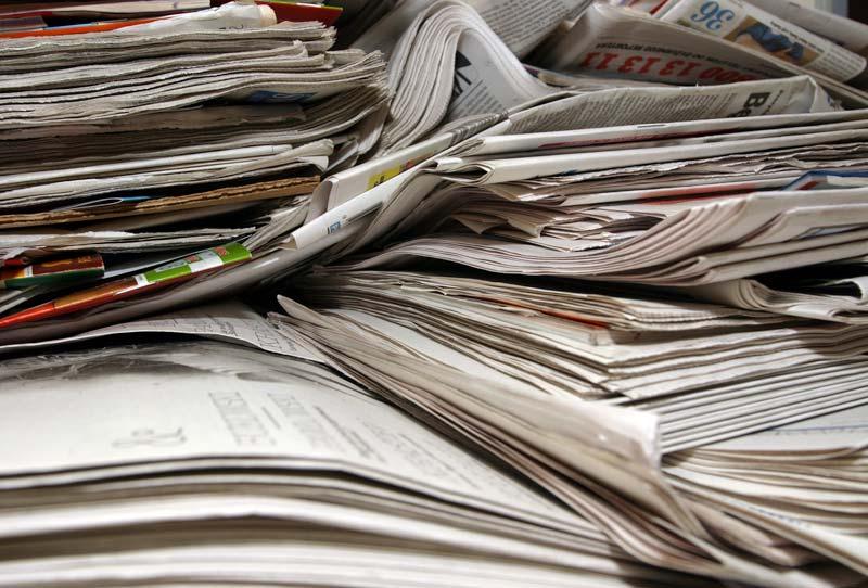 ONP - Old newspaper scraps
