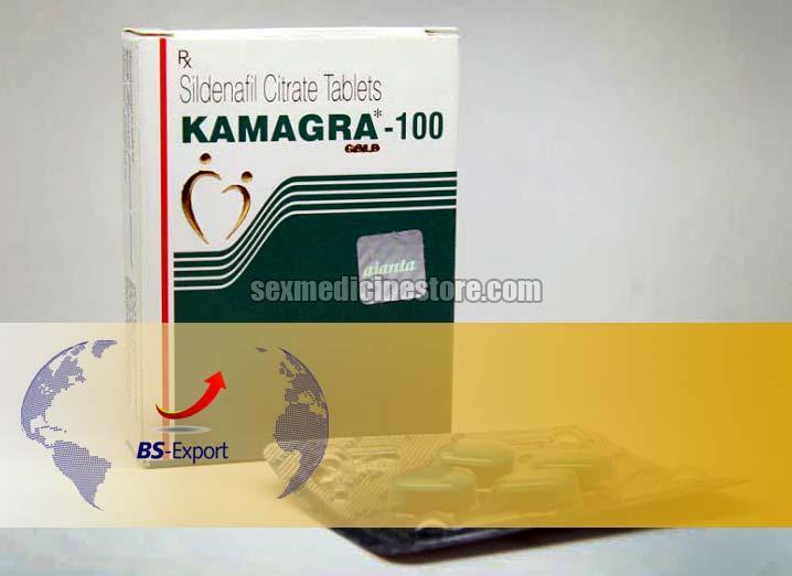 Kamagra 100 Gold Tablets
