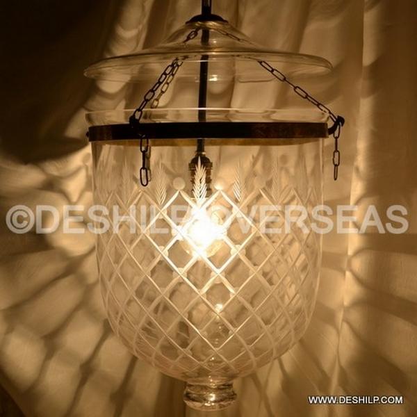 Clear Belljar Hanging Lights Manufacturer Exporters From