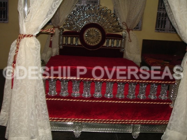 Glass Bed Furnitures (DS1123)