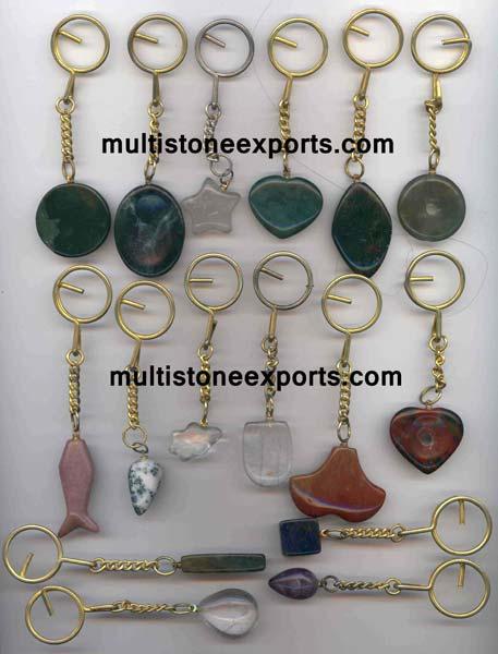 Gemstone Keychains