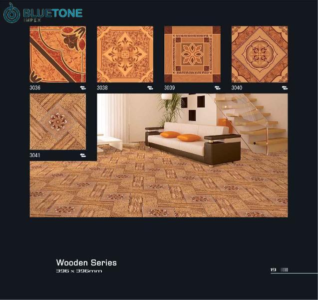 395x395 mm digital floor tiles with wood finish (3036)
