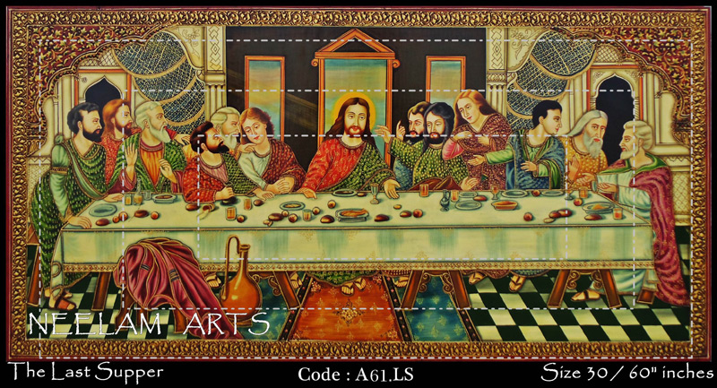 Mural Last Supper Manufacturer in Rajasthan India by Neelam Arts