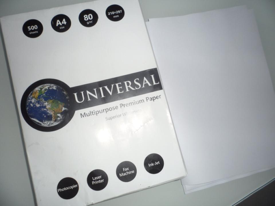 Universal Office A4 Copy Paper (Uni01)