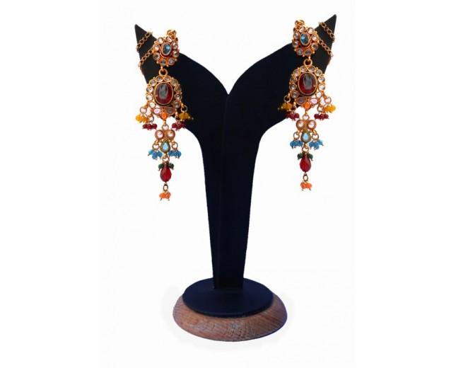 designer fashion earrings (VIER138)