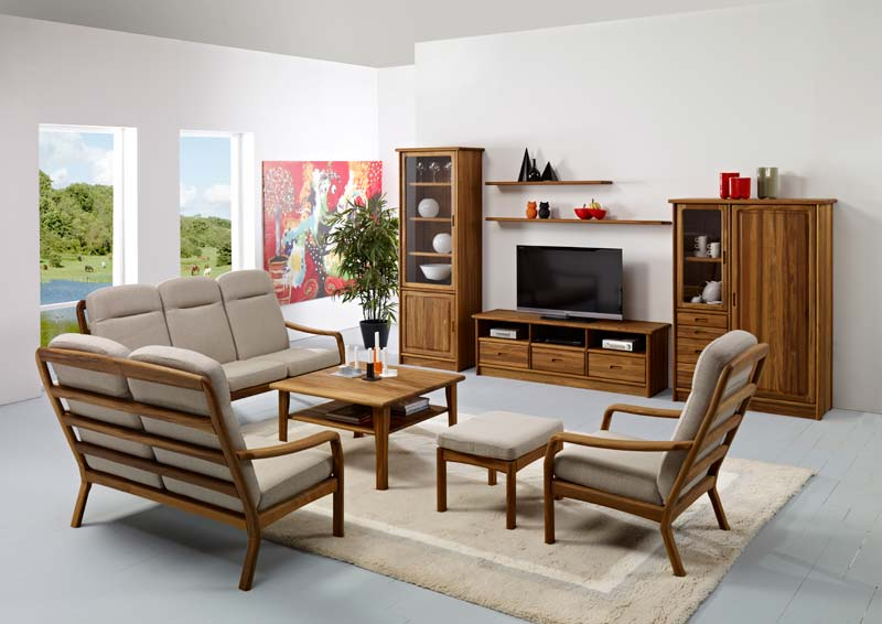 1260h teak wood living room furniture manufacturer in for Home furniture living room