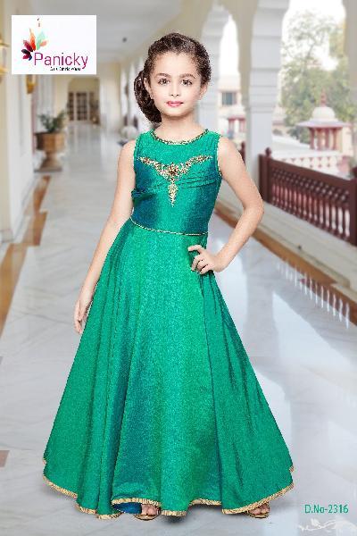 36f35fc171 Girls Party Wear Gowns Manufacturer in Delhi Delhi India by Lekhus ...