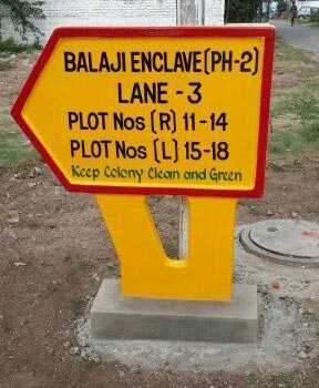 Concrete Signs Board Manufacturer In Hyderabad Telangana