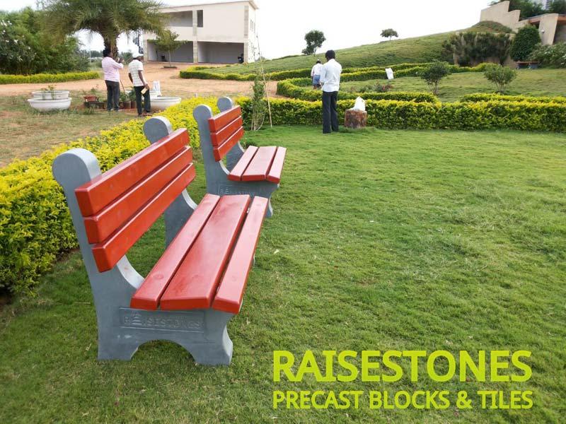 Pleasant Garden Bench With Backrest Manufacturer In Hyderabad Uwap Interior Chair Design Uwaporg