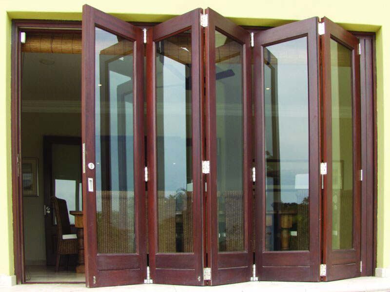 Wooden Folding Doors : Folding doors manufacturer in gurgaon haryana india by the