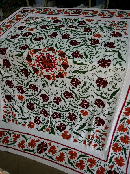 Designer Silk Bed Cover