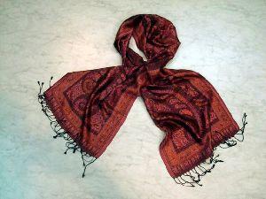 Silk Jacquard Shawls Ec-3501-a