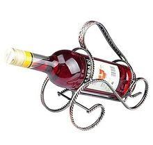 Metal One Bottle Wine Holder