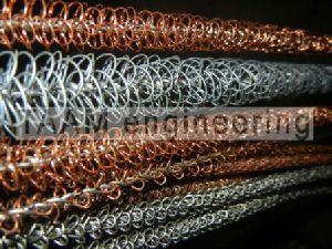 Wire Matrix Turbulators