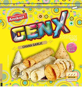 Genx Chana Garlic Papad