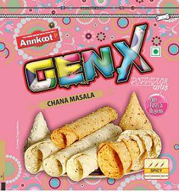 Genx Chana Masala Papad