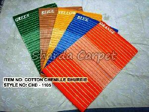 Cotton Chenille Dhurries 02