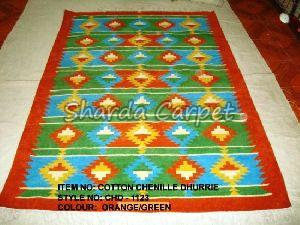 Cotton Chenille Dhurries 08