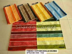 Cotton Chenille Dhurries 06