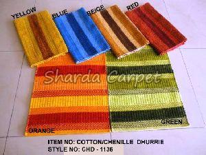 Cotton Chenille Dhurries 07
