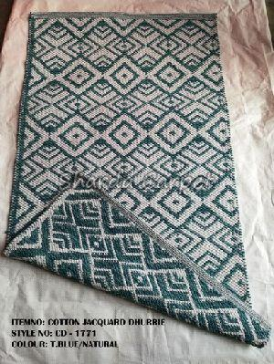Cotton Jacquard Dhurries 14