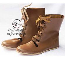 Leather Roman Boot