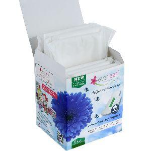 Everteen Premium 100% Cotton-top Sanitary Napkins For Women (320mm) 8 Pads - Anti-bacterial