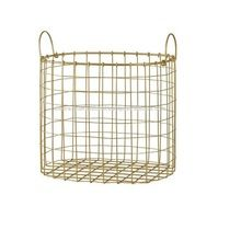 Brass Storage Basket