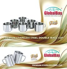 Stainless Steel Double Wall Cups