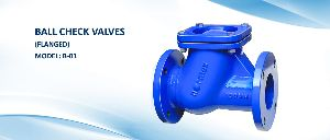 Ball Check Valves Flanged