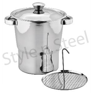 Stainless Steel Cuscus Pot