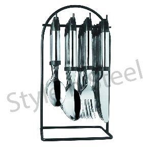 Stainless Steel Cutlery Stand