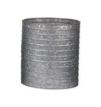 Galvanized Planter Pot