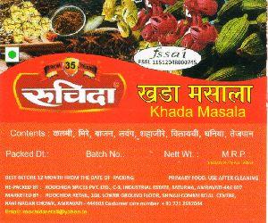 Roochida 50 gm Khada Masala