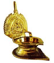 Singhasan Deep Brass Diya