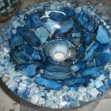 semiprecious stone washbasin