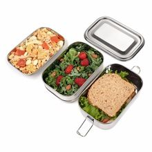 Children Use Stainless Steel Lunch Box