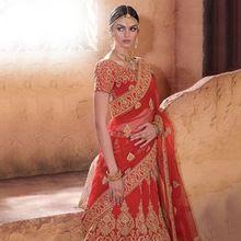 Lehenga Bridal Saree