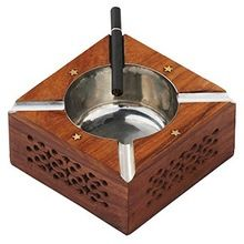 Wooden Ash Tray