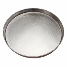Stainless Steel Large Dinner Plate
