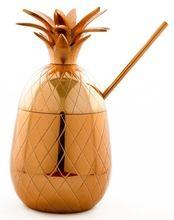 Copper Pineapple Cocktail Mug