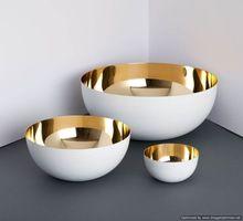 White Gold Bowl