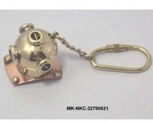 Divers Helmet Keychain
